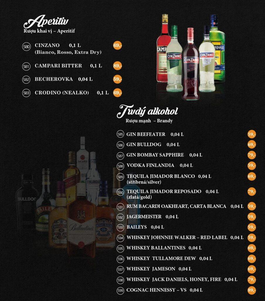 APERITIV / TVRDÝ ALKOHOL MAISON VIET